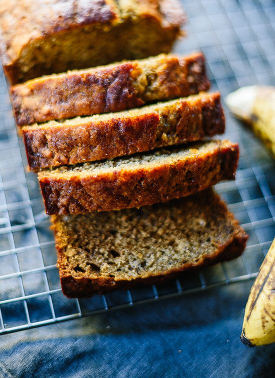 Healthy Homemade Whole Wheat Bread Recipe  Healthy Banana Bread Recipe Cookie and Kate