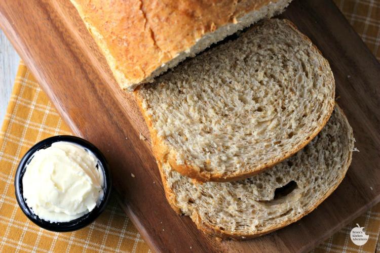 Healthy Homemade Whole Wheat Bread Recipe  Honey Oat Whole Wheat Bread