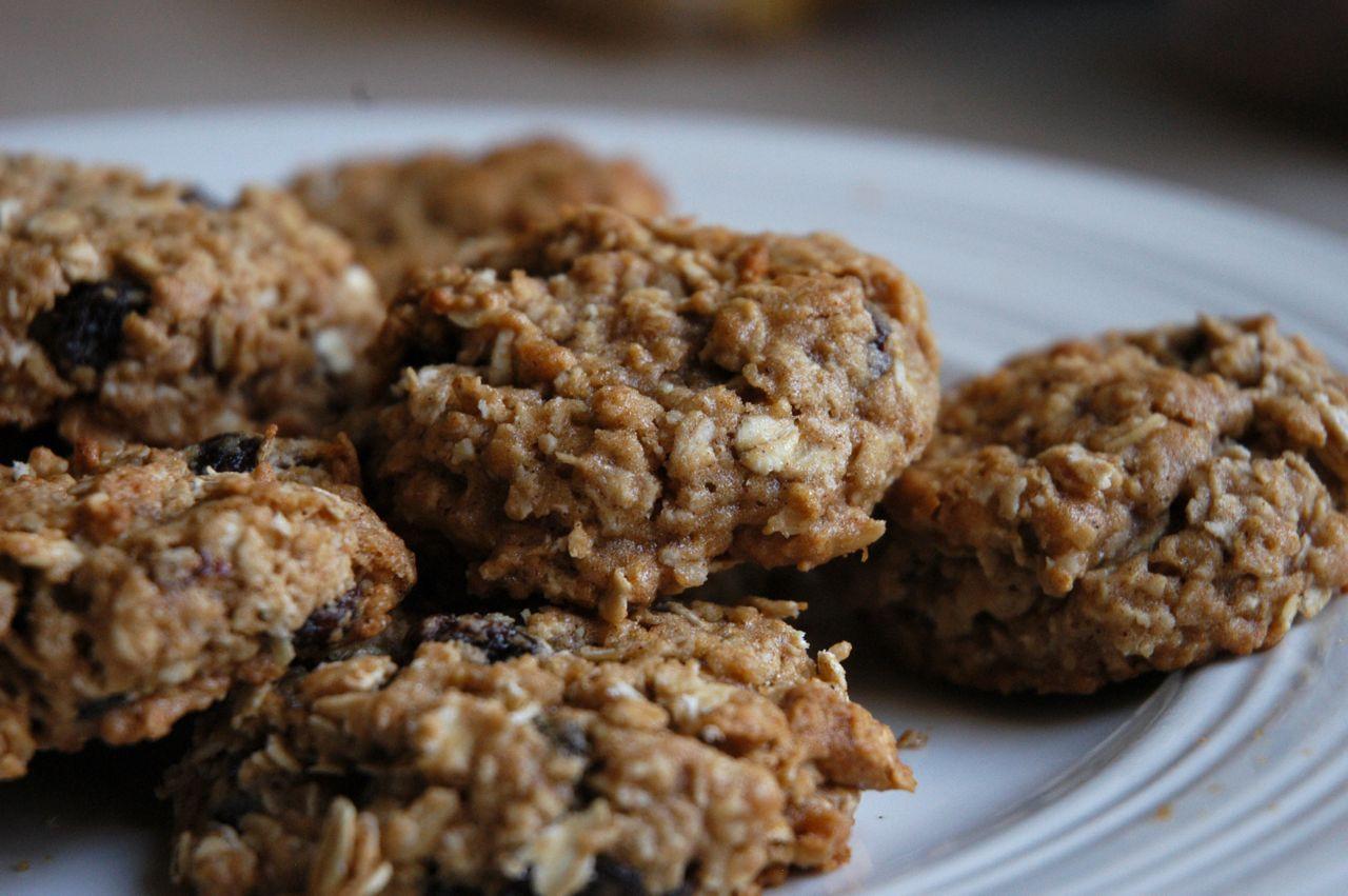 Healthy Honey Oatmeal Cookies  Goddess of Baking Honey Oatmeal Cookies