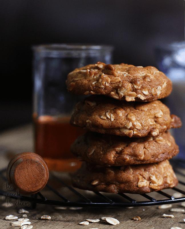 Healthy Honey Oatmeal Cookies  Oatmeal Honey Cookies