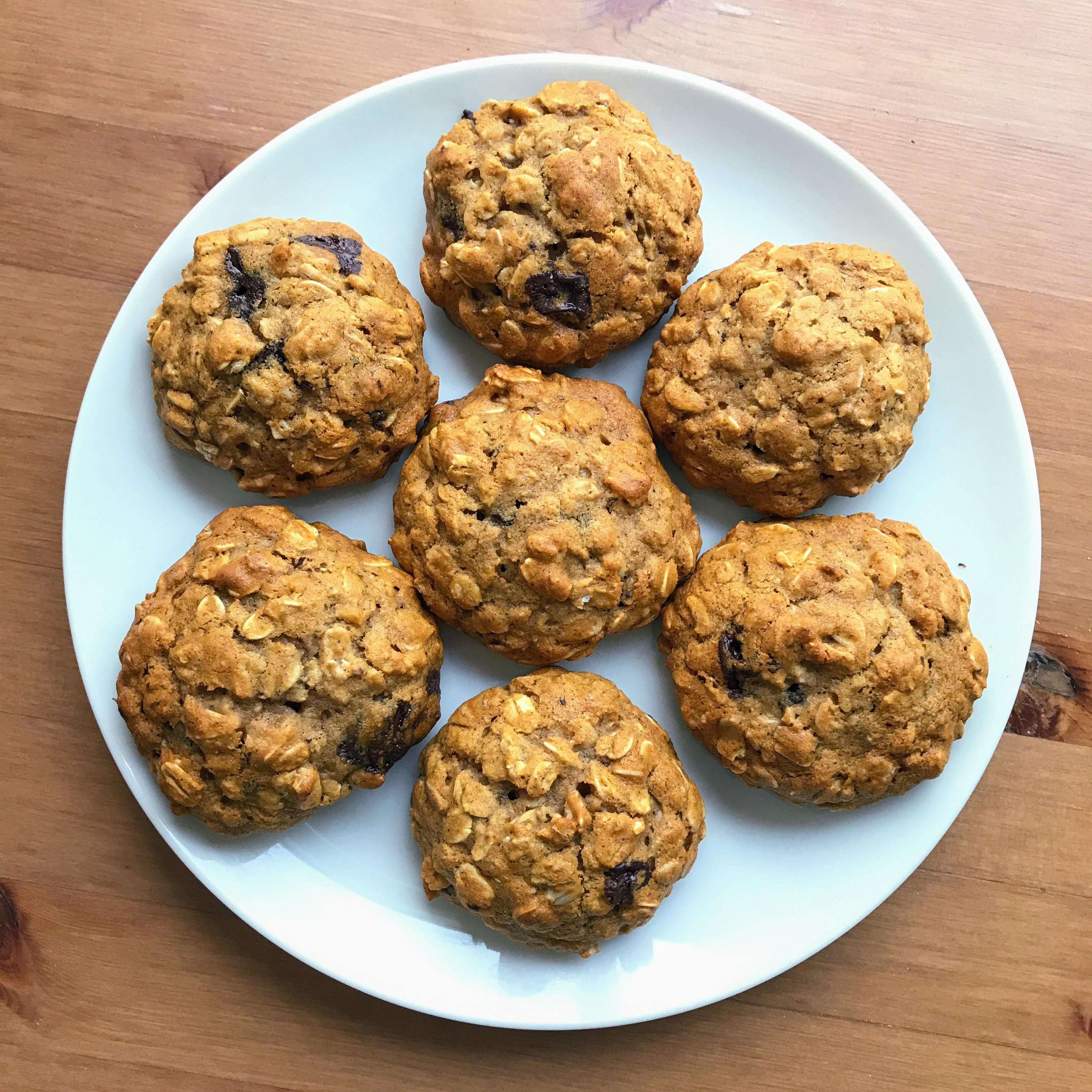 Healthy Honey Oatmeal Cookies  Honey Oatmeal Cookies Recipe