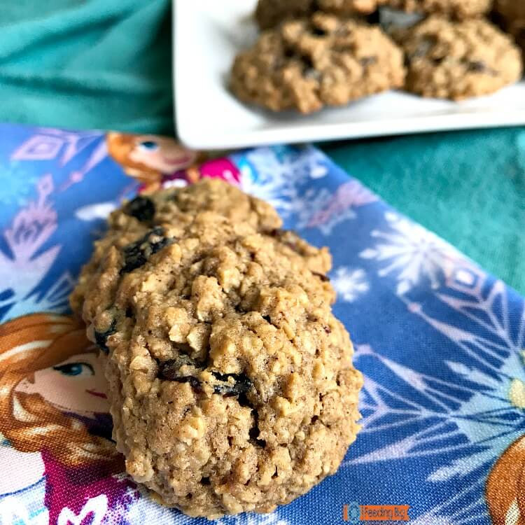 Healthy Honey Oatmeal Cookies  Healthy Honey Oatmeal Cookies made with honey and coconut
