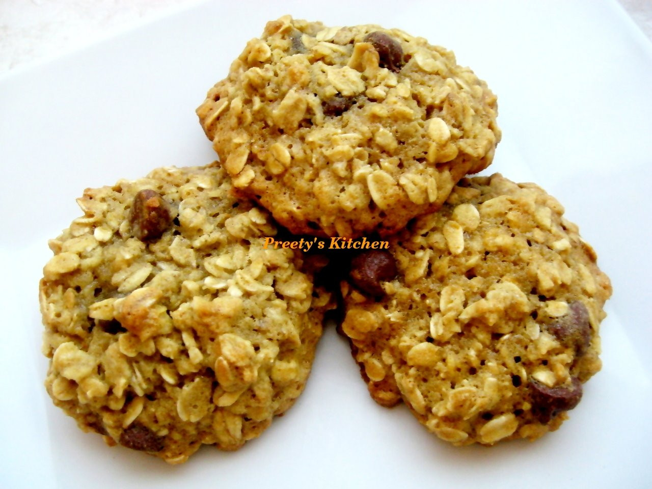 Healthy Honey Oatmeal Cookies  Healthy Recipes
