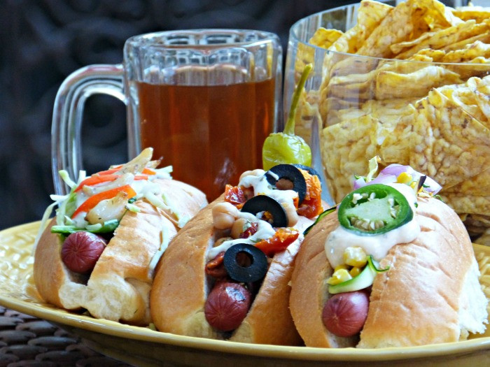 Healthy Hot Dogs  Headstands and Hot Dogs Healthy Chip Giveaway