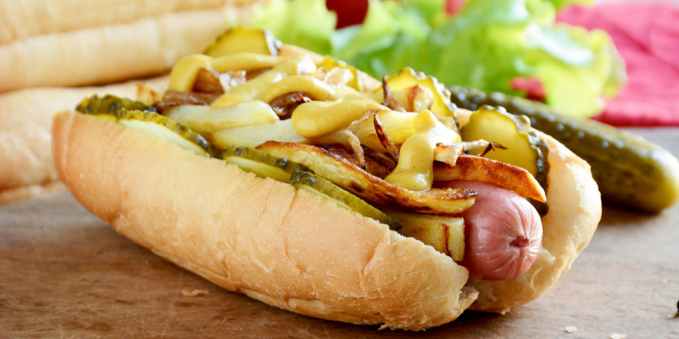 Healthy Hot Dogs  hot dog