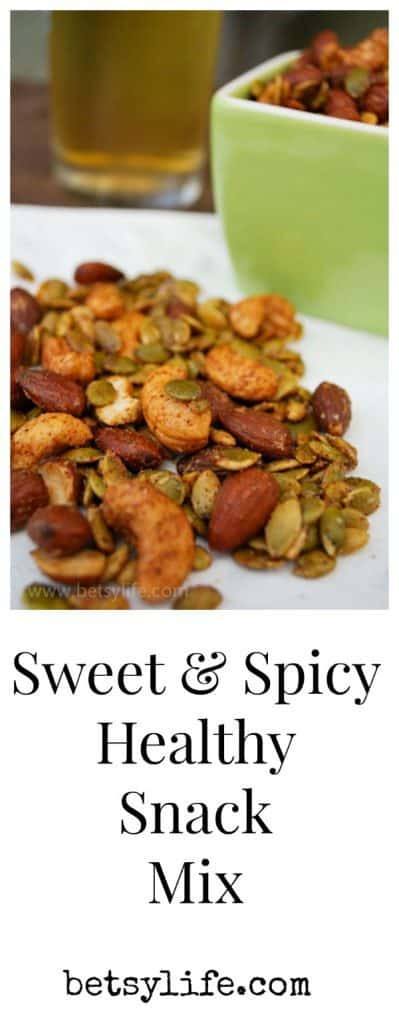 Healthy Hot Snacks  Ultimate Sweet and Spicy Snack Mix