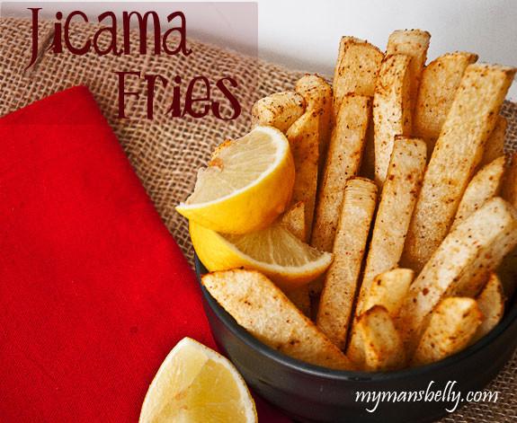 Healthy Hot Snacks  Healthy Snacks – Spicy Jicama Fries