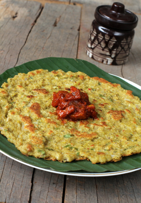 Healthy Indian Breakfast  Oats Adai Healthy Indian Breakfast recipe with Oats