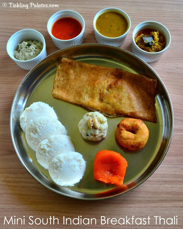 Healthy Indian Breakfast  South Indian Breakfast Thali – Healthy Tiffin Recipes