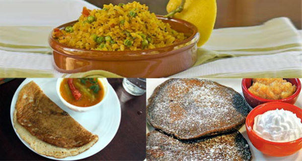 Healthy Indian Breakfast  Start your day by eating any of these 3 healthy Indian