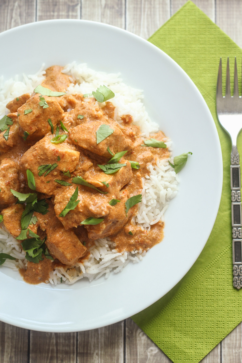Healthy Indian Chicken Recipes  Healthy Slow Cooked Tikka Masala The Wanderlust Kitchen