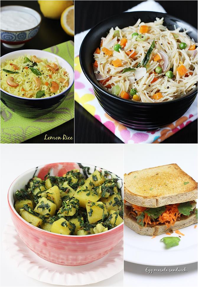 Healthy Indian Food Recipes  Indian Recipes for Bachelors