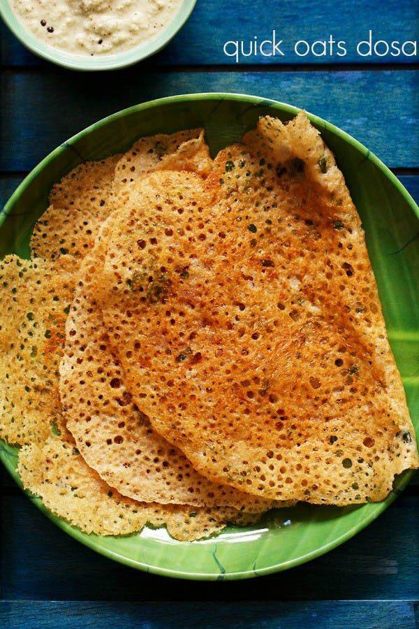 Healthy Indian Recipes  oats recipes 14 oatmeal recipes