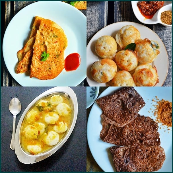Healthy Indian Recipes  10 easy Indian breakfast recipes