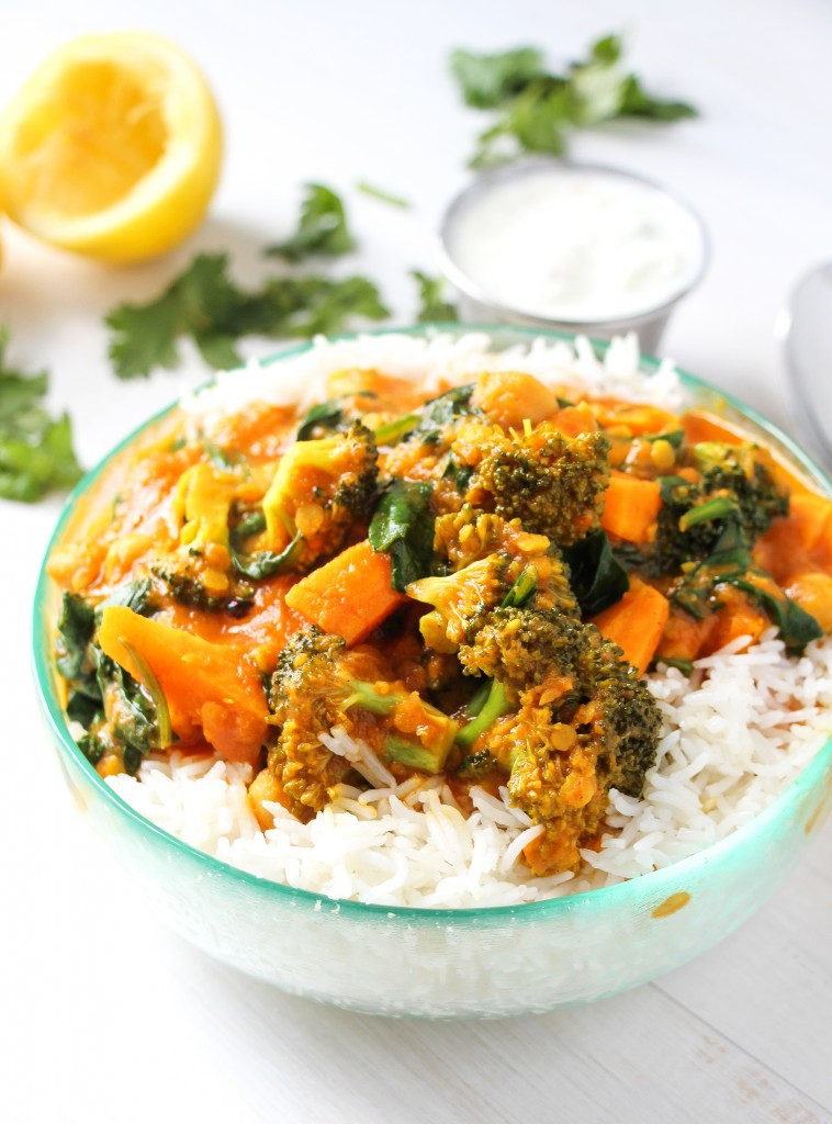 Healthy Indian Vegetarian Recipes  The Best Ve able Curry Ever Layers of Happiness