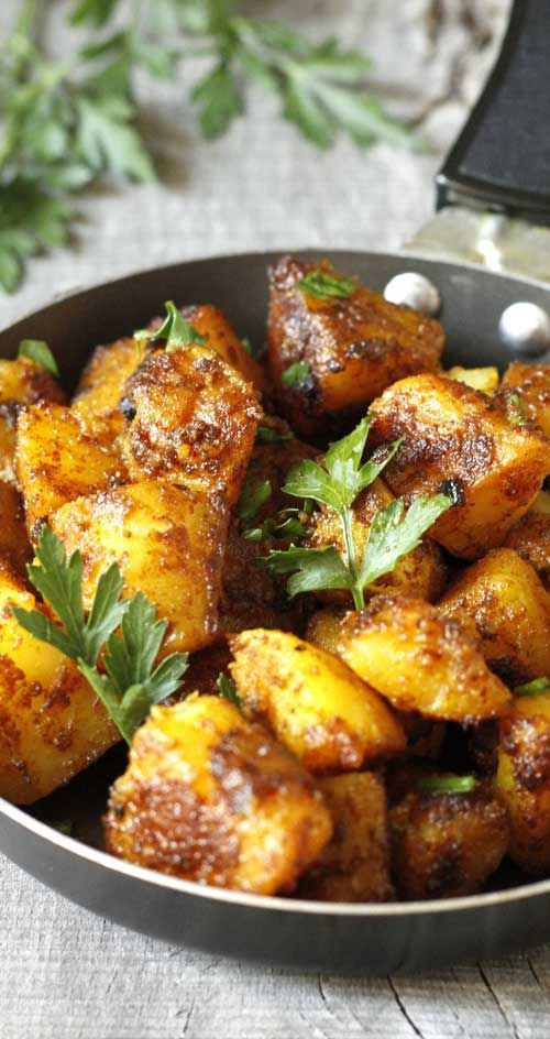 Healthy Indian Vegetarian Recipes  Bombay Potatoes Recipe