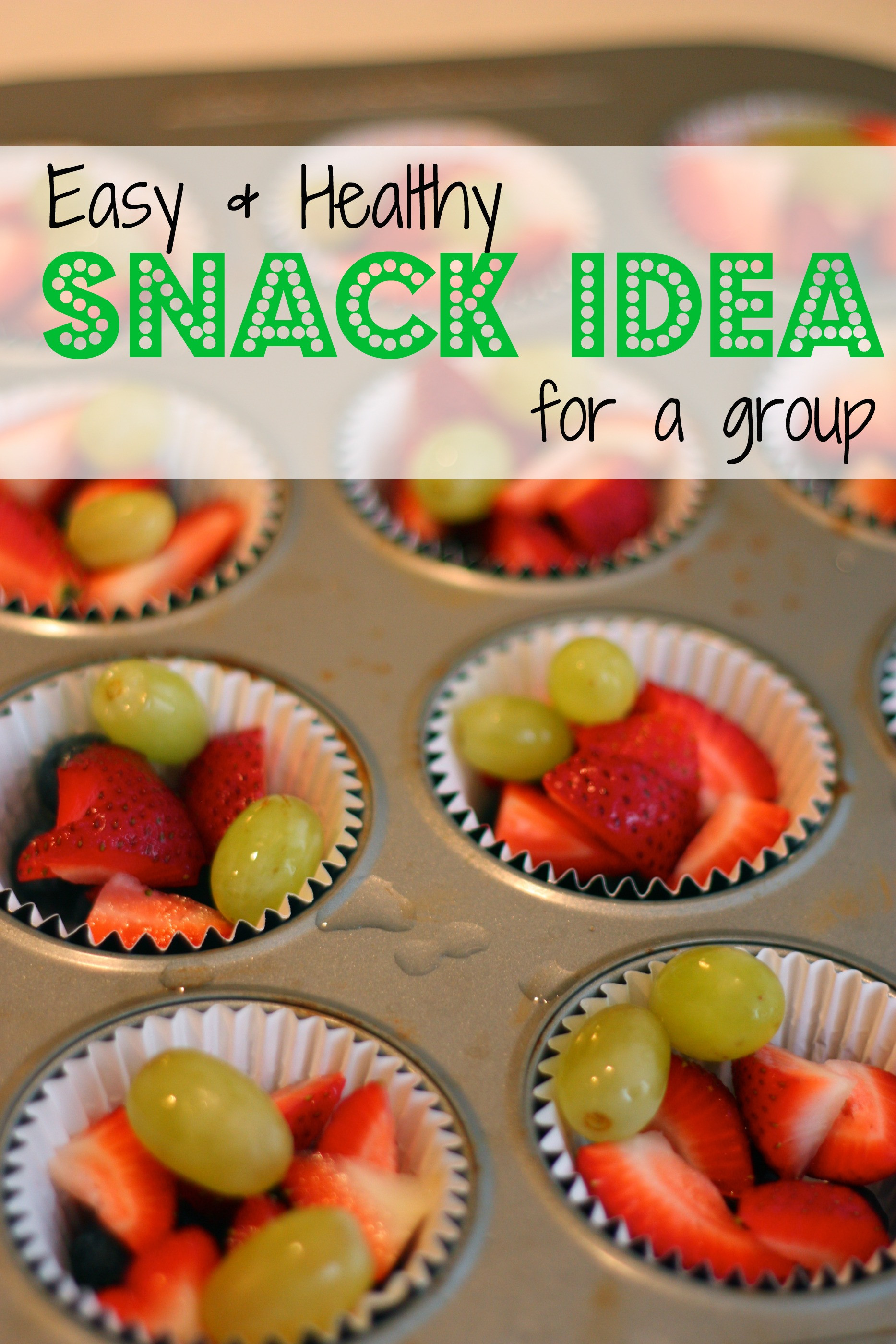 Healthy Individual Snacks  Snack Idea Individual Portions of Mixed Fruit I Can