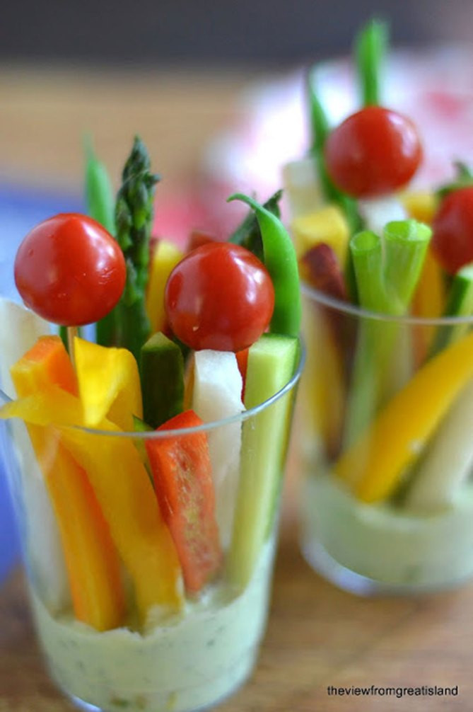 Healthy Individual Snacks  Easy Holiday Appetizers That Won t Fill You Up
