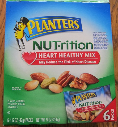 Healthy Individual Snacks  Planters Nuts Snacks Heart Healthy Mix – Melanie Cooks