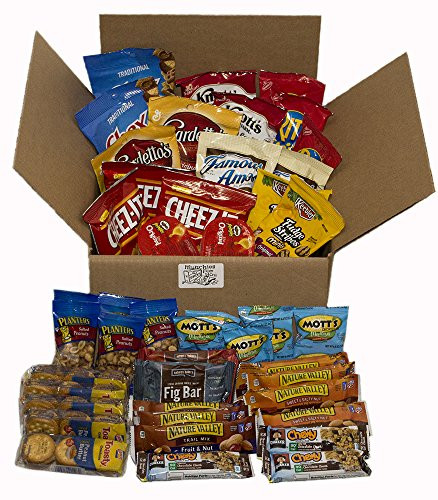 Healthy Individually Packaged Snacks  Healthy Snacks Individually Wrapped In a Box 45 Count