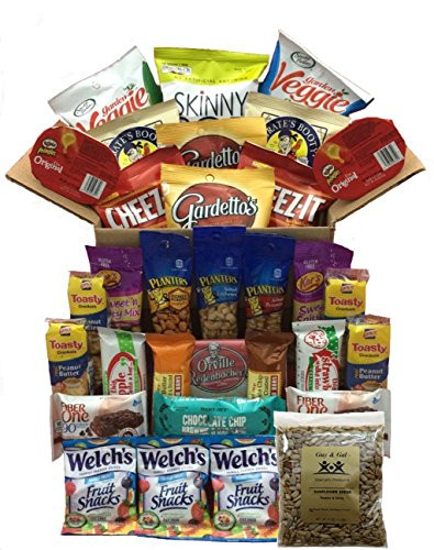 Healthy Individually Packaged Snacks  Healthy Snacks for Adults Individually Wrapped College