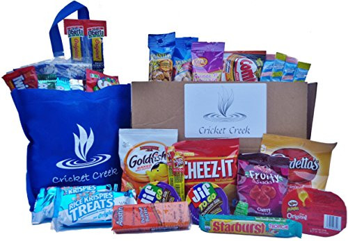 Healthy Individually Packaged Snacks  Healthy Snacks Care Package Box 30 Count Individually
