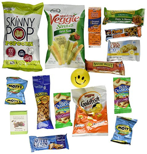 Healthy Individually Wrapped Snacks  Healthy Snack Box 36 Individually Wrapped Snacks
