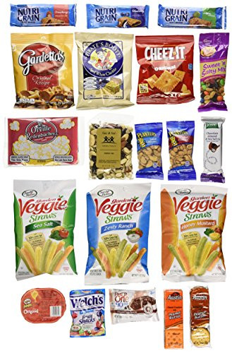 Healthy Individually Wrapped Snacks  Healthy Snacks for Adults Individually Wrapped College