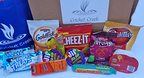 Healthy Individually Wrapped Snacks  Healthy Snacks Care Package Box 30 Count Individually
