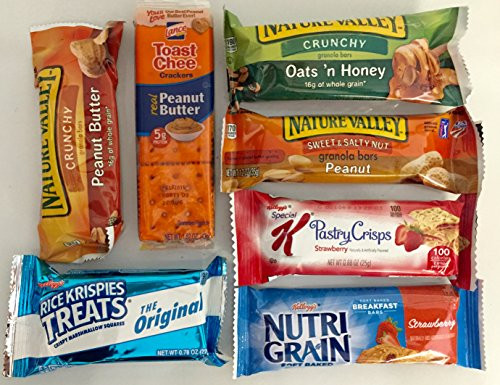 Healthy Individually Wrapped Snacks  Healthy Snacks In A Box 35 Count Individually Wrapped