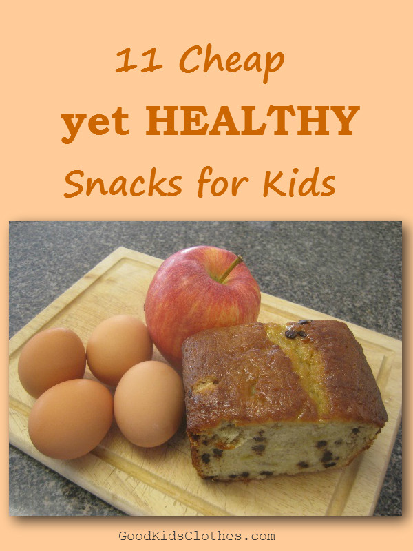 Healthy Inexpensive Snacks  cheap healthy snacks for school