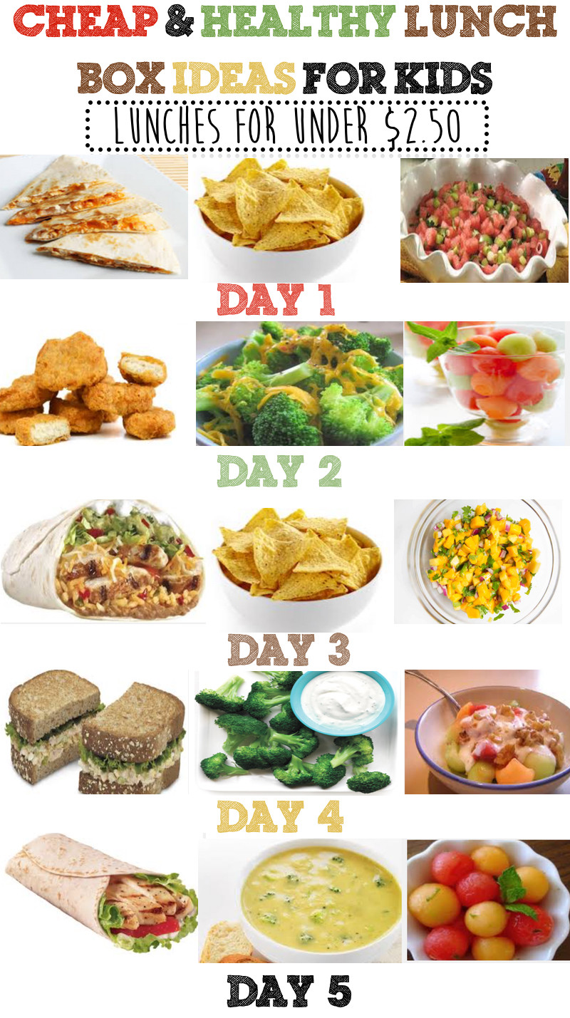 Healthy Inexpensive Snacks  Cheap & Healthy Lunch Box Ideas For Kids Week 3