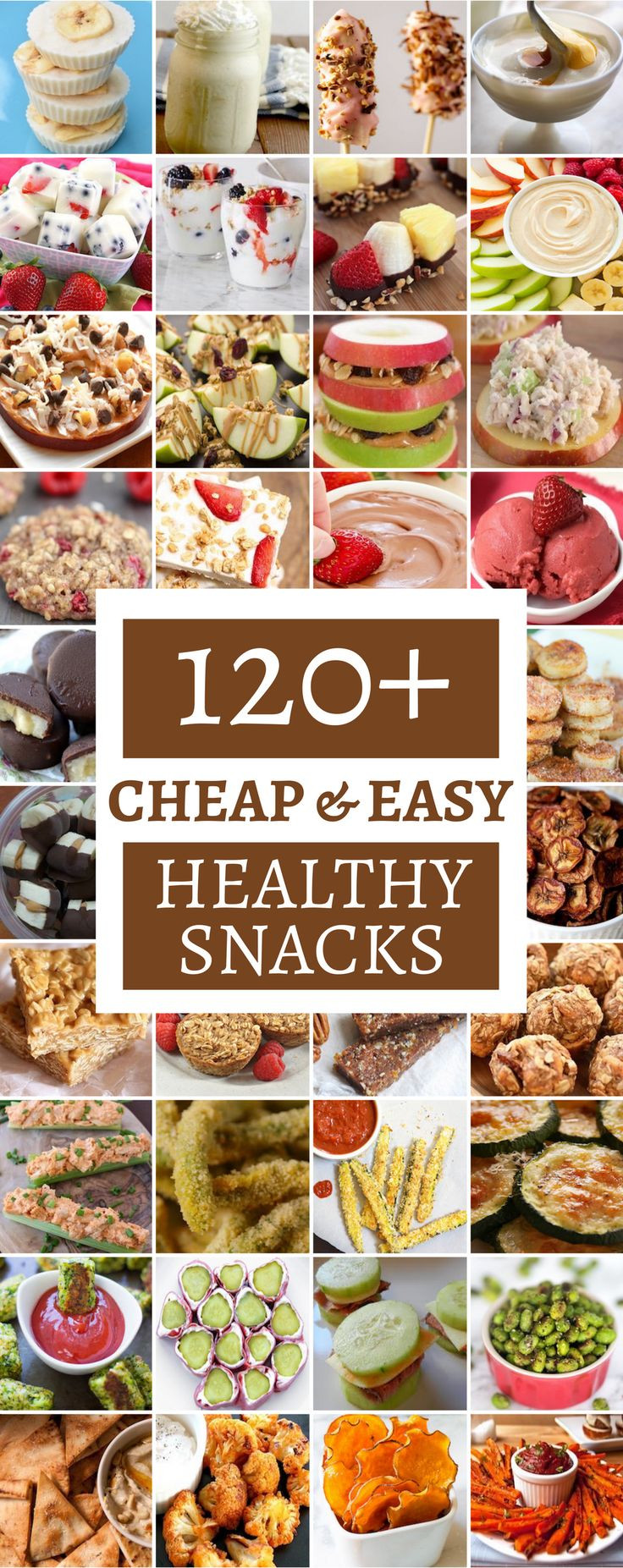 Healthy Inexpensive Snacks  Best 25 Cheap healthy snacks ideas on Pinterest