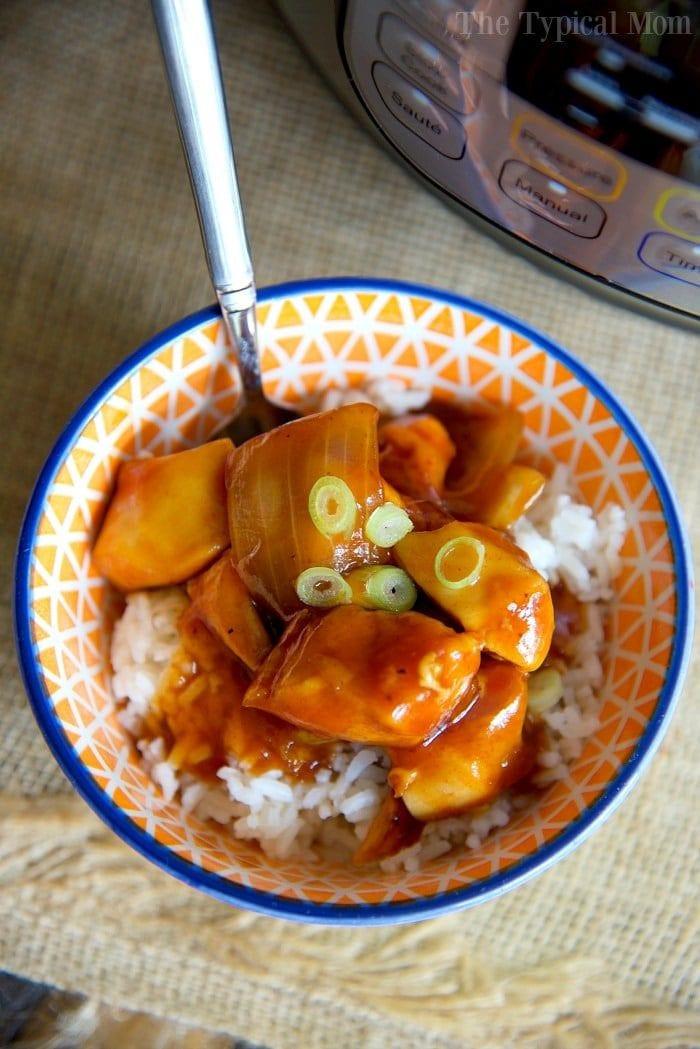 Healthy Instant Pot Recipes Chicken  Healthy Instant Pot Orange Chicken Recipe · The Typical Mom