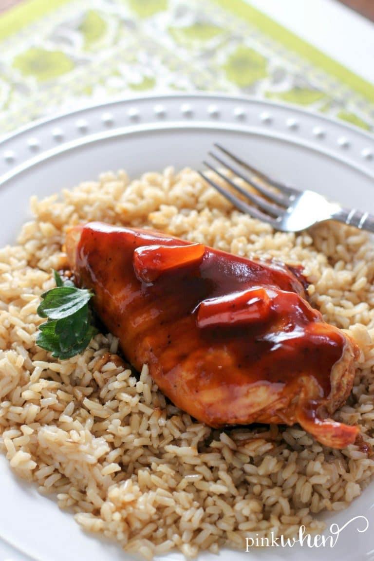 Healthy Instant Pot Recipes Chicken  Easy Healthy Instant Pot Hawaiian Chicken Recipe
