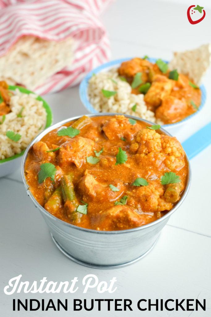 Healthy Instant Pot Recipes Chicken  Instant Pot Indian Butter Chicken Recipe