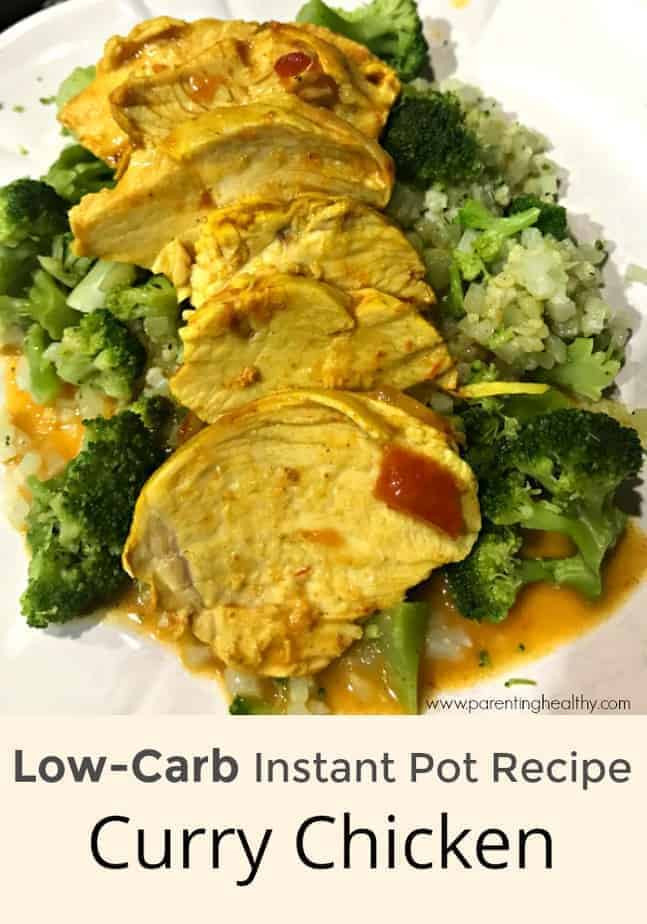 Healthy Instant Pot Recipes Low Carb  Low Carb Instant Pot Recipe Curry Chicken