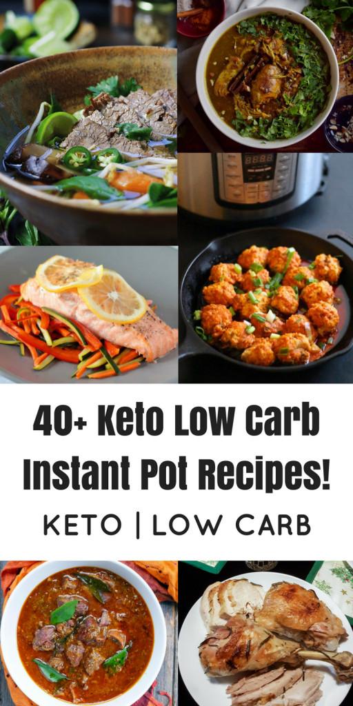 Healthy Instant Pot Recipes Low Carb  40 Keto Low Carb Instant Pot Recipes Oh Snap Let s Eat