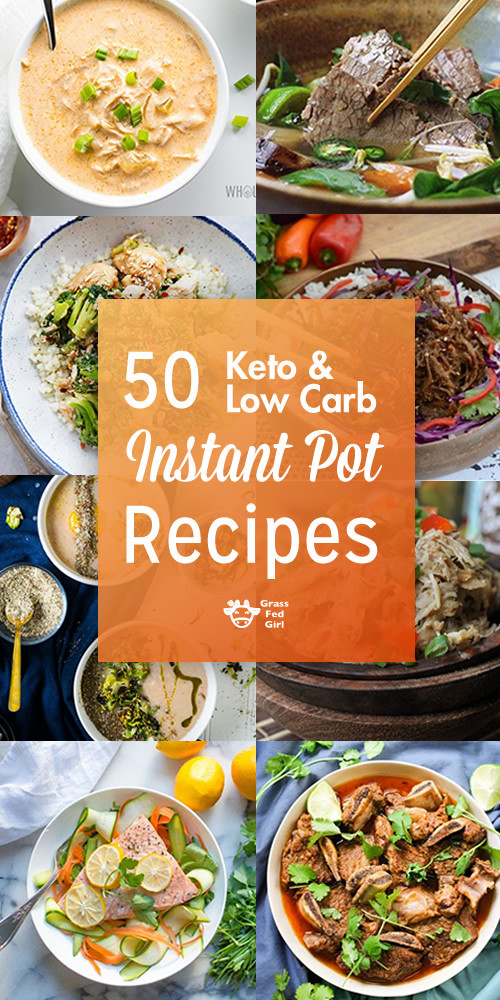 Healthy Instant Pot Recipes Low Carb  Keto and Low Carb Instant Pot Recipes