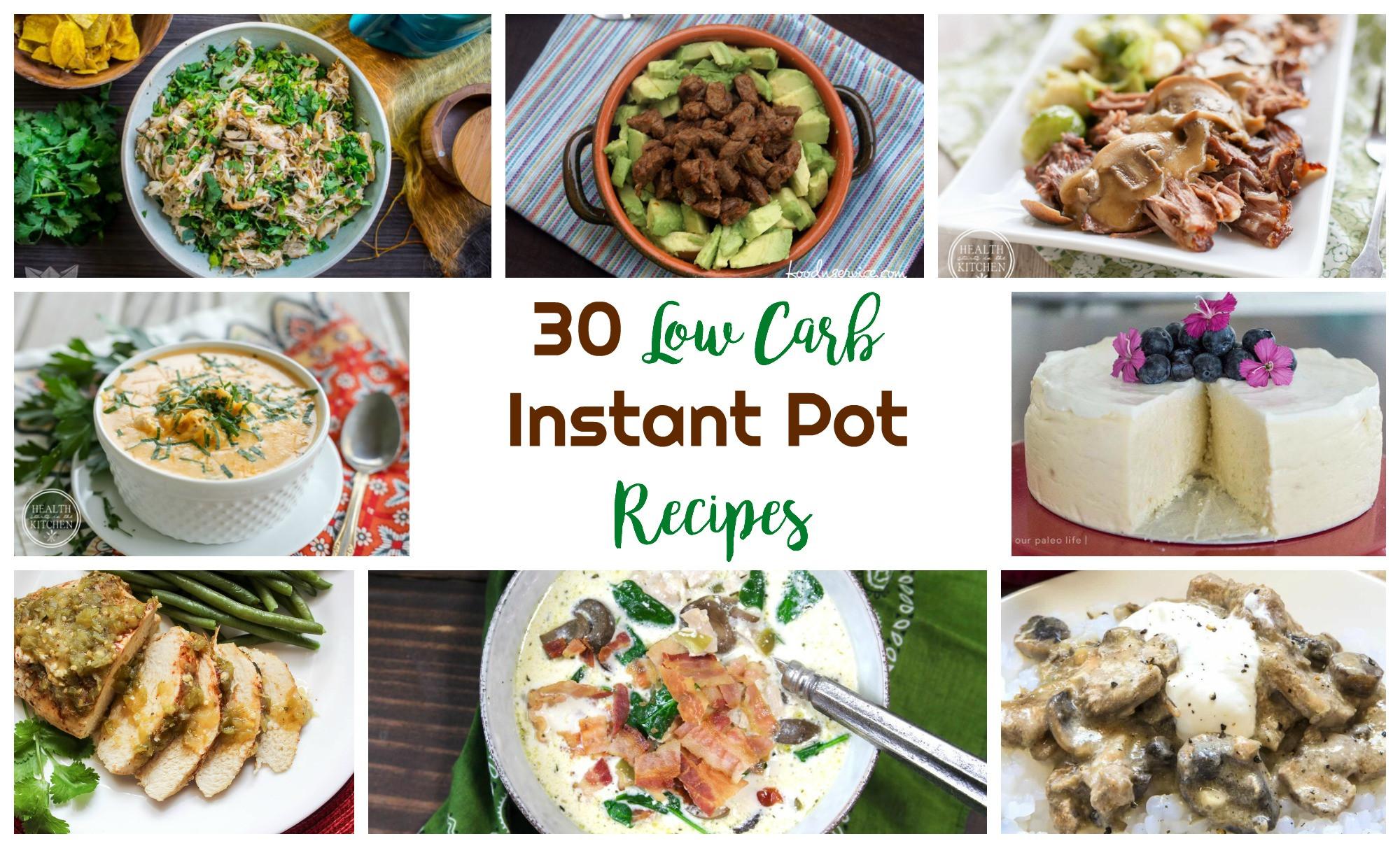 Healthy Instant Pot Recipes Low Carb  Low Carb Instant Pot Recipes