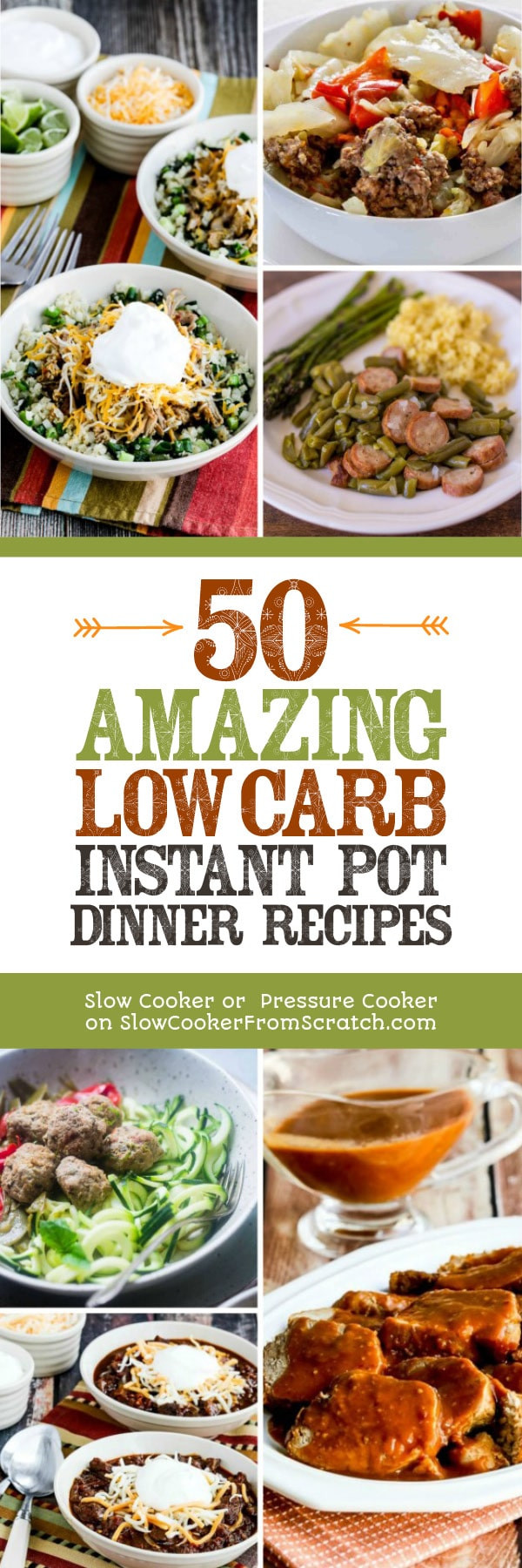 Healthy Instant Pot Recipes Low Carb  50 AMAZING Low Carb Instant Pot Dinner Recipes Slow