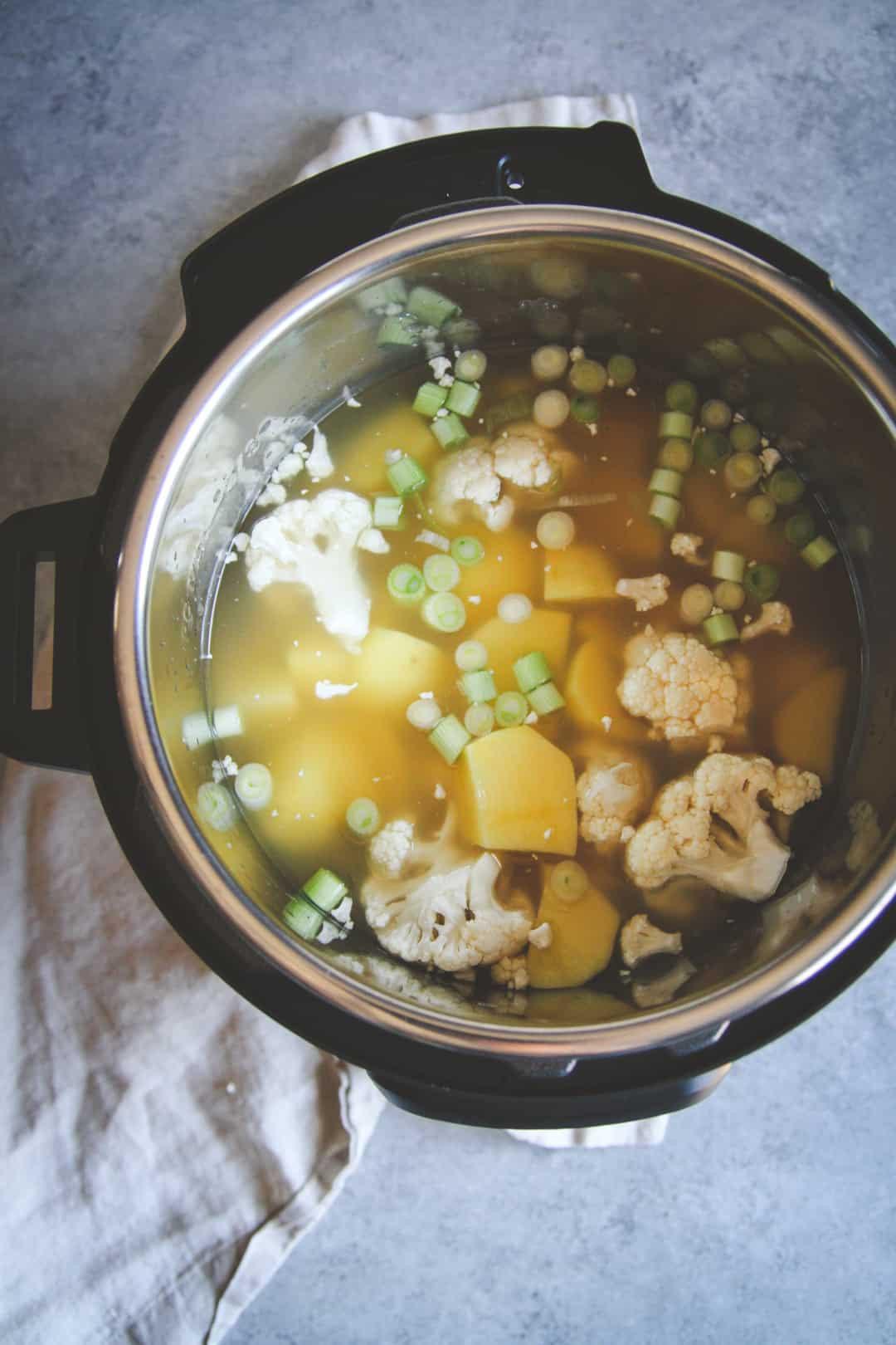 Healthy Instant Pot Soup Recipes  The Best Healthy Instant Pot Baked Potato Soup Recipe