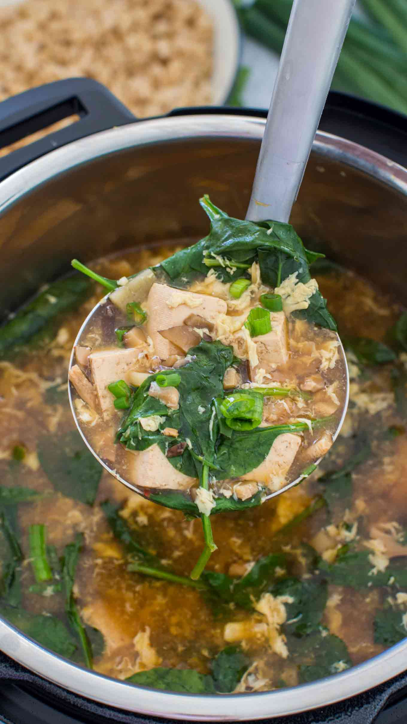Healthy Instant Pot Soup Recipes  Instant Pot Hot and Sour Soup VIDEO Sweet and Savory Meals