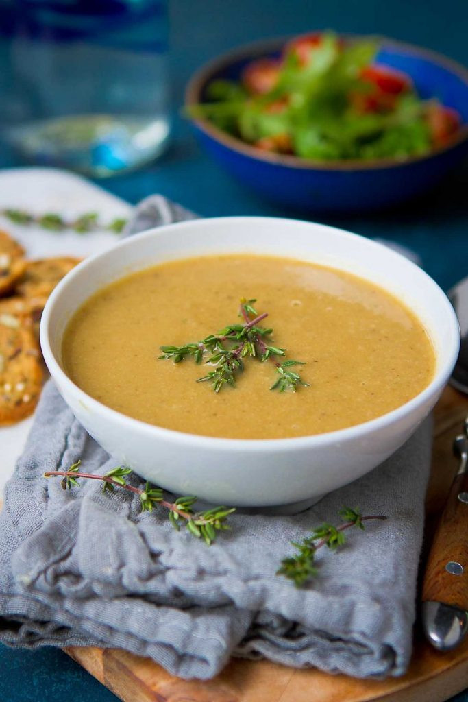 Healthy Instant Pot Soup Recipes  Vegan Instant Pot Mushroom Soup Healthy Soup Recipe