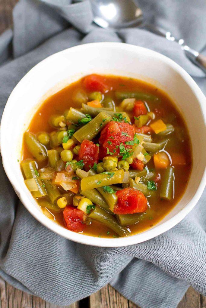 Healthy Instant Pot Soup Recipes  Instant Pot Ve able Soup Pressure Cooker or Stovetop
