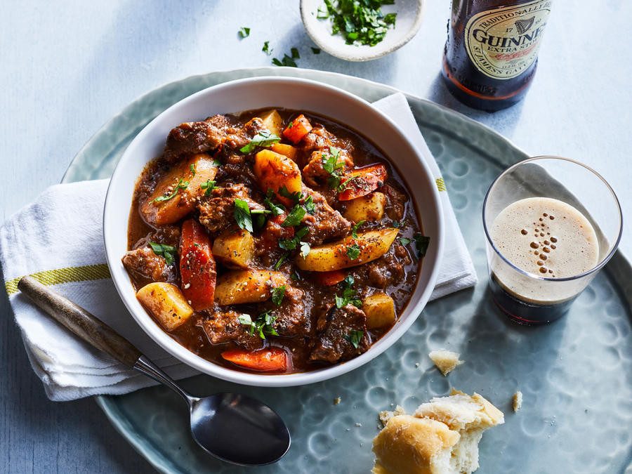Healthy Irish Recipes  Beef and Guinness Stew St Patrick s Day Recipes