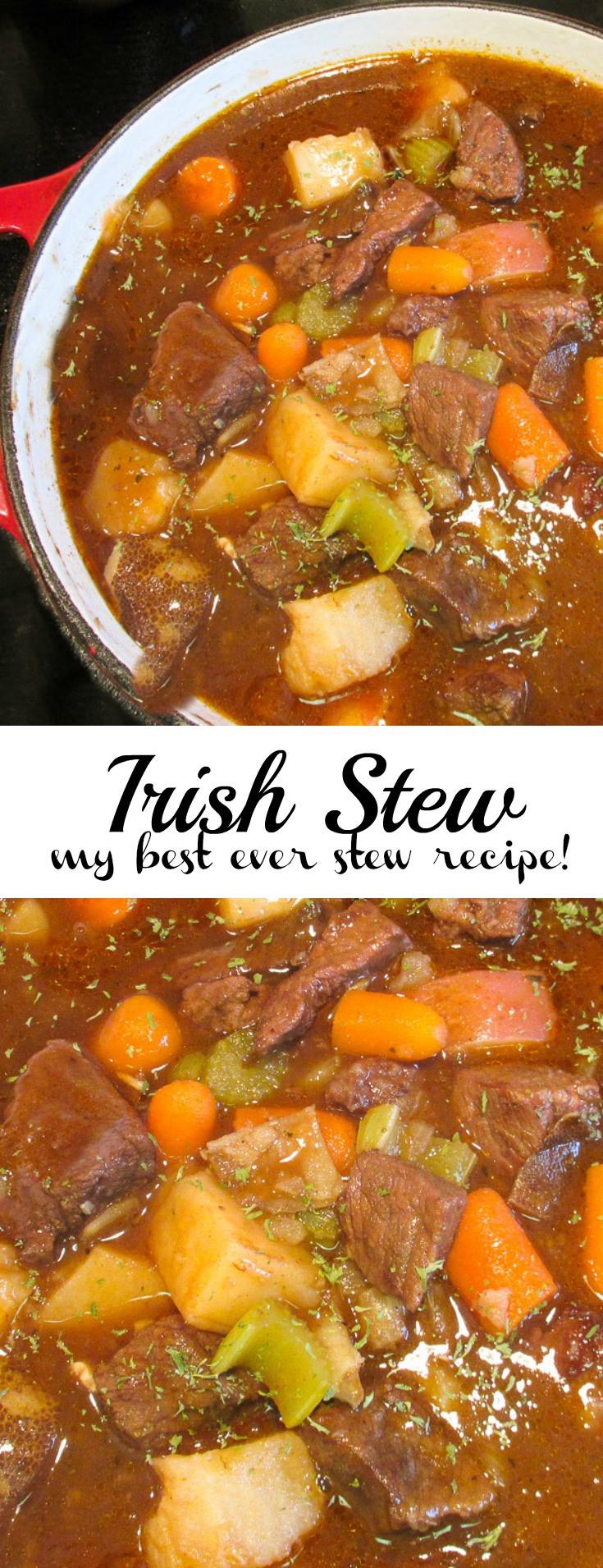 Healthy Irish Recipes  healthy irish stew