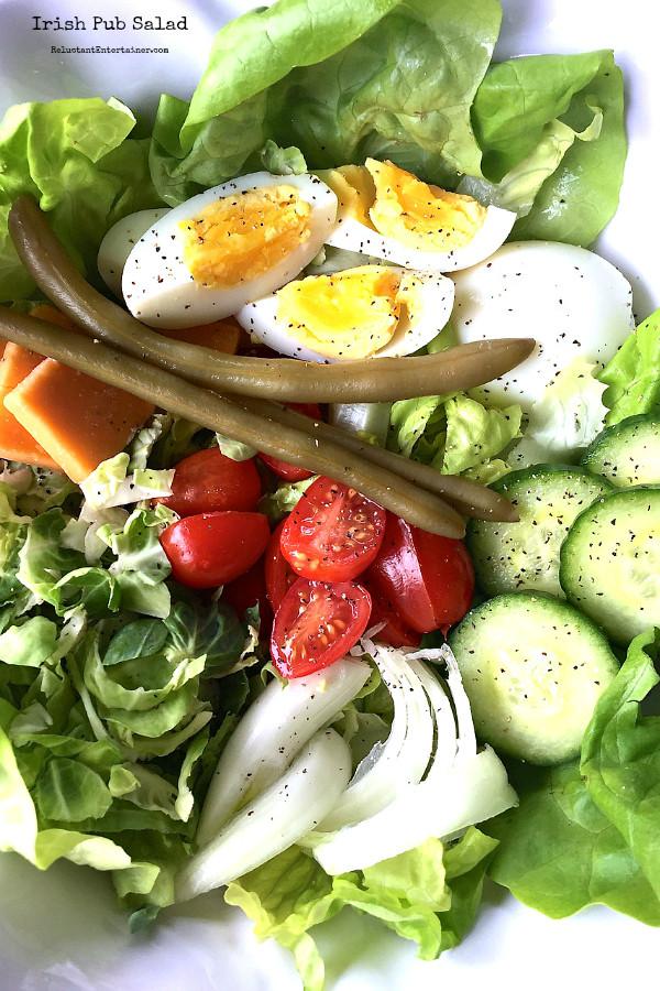 Healthy Irish Recipes  three weeks of kick a$$ salad recipes
