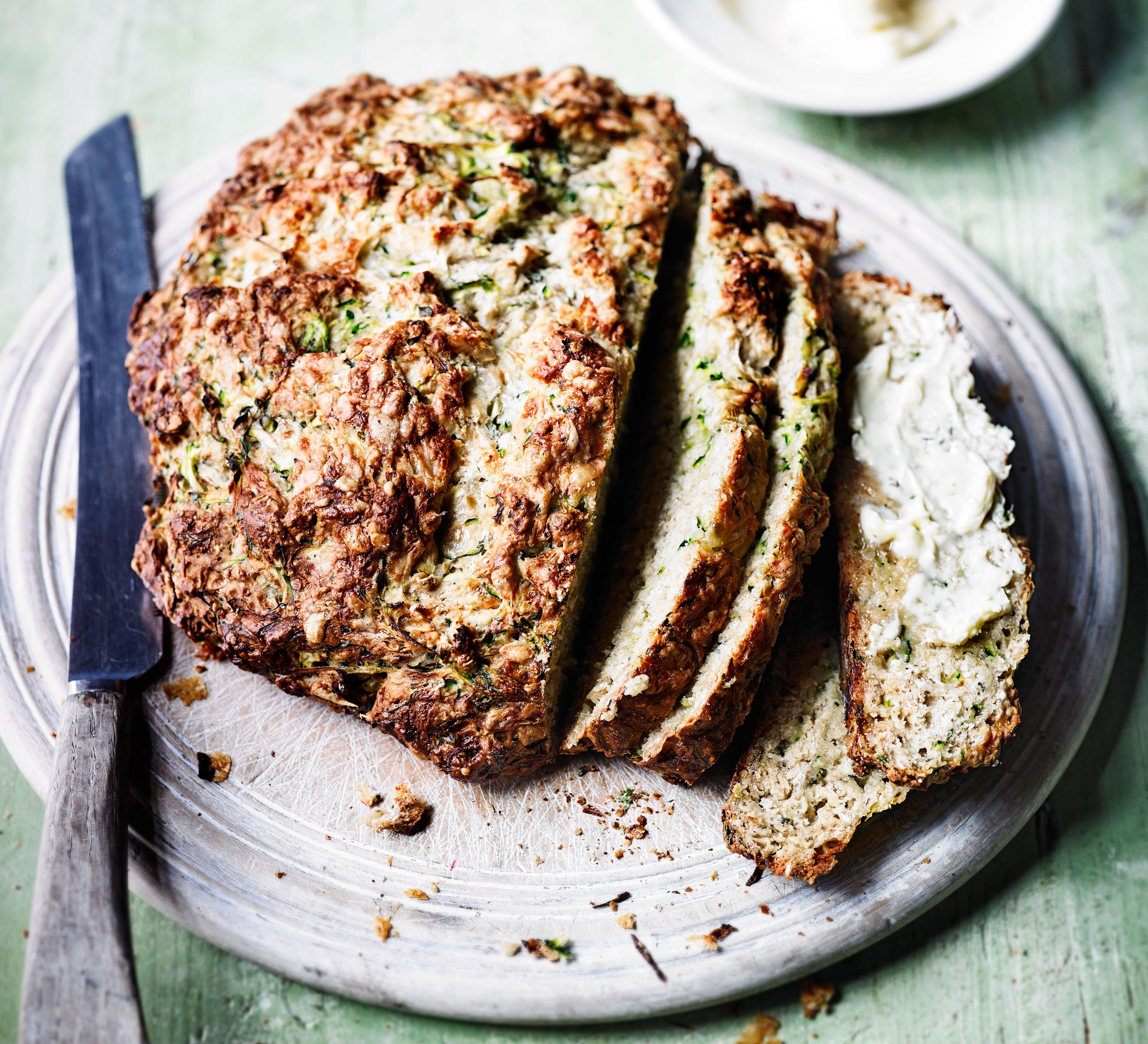 Healthy Irish Soda Bread Recipe  Cour te & cheddar soda bread