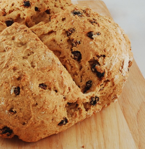 Healthy Irish Soda Bread Recipe  Whole Wheat Vegan Irish Soda Bread Happy Herbivore